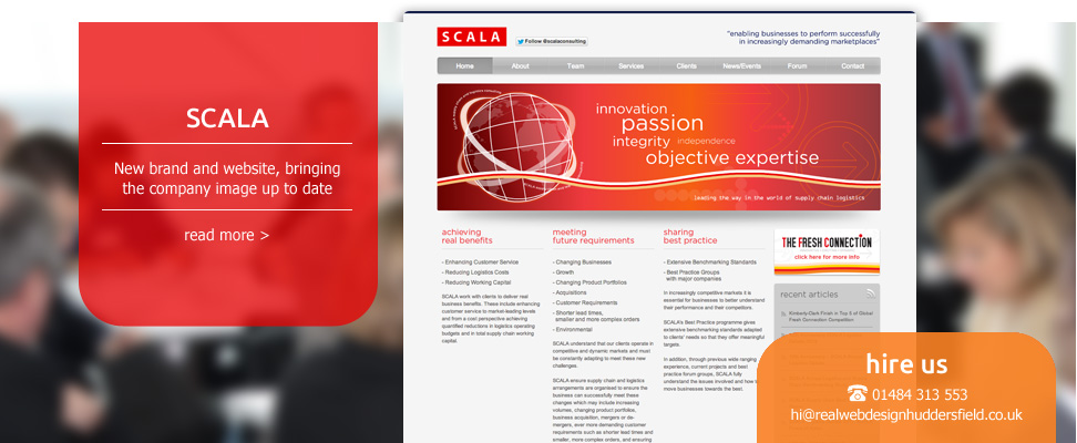 Scala Brand Design and Website